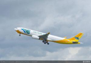 CEB's Airbus A330-300 aircraft