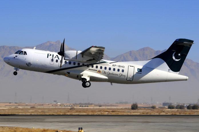 PIA Pakistan International Airlines ATR-42-500