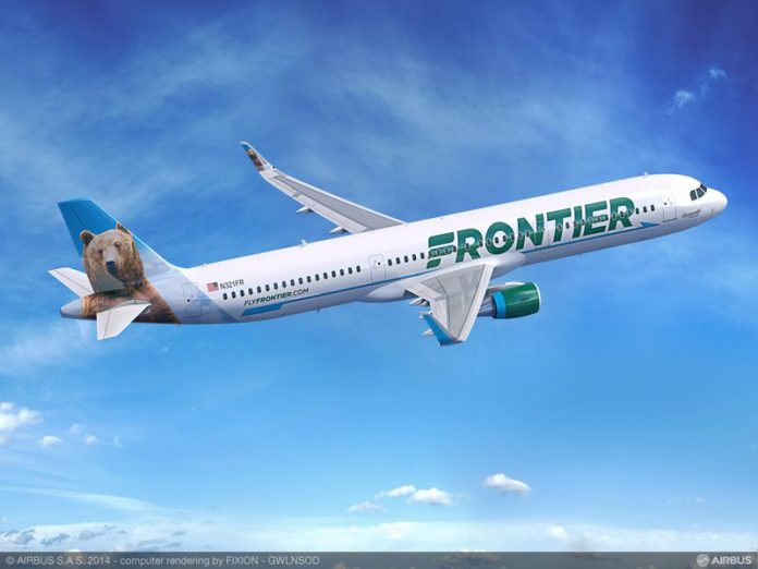 Airbus A320 di Frontier Airlines