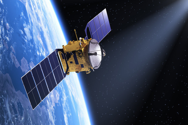 Satellite in orbita