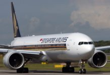Singapore Airlines 777-300ER
