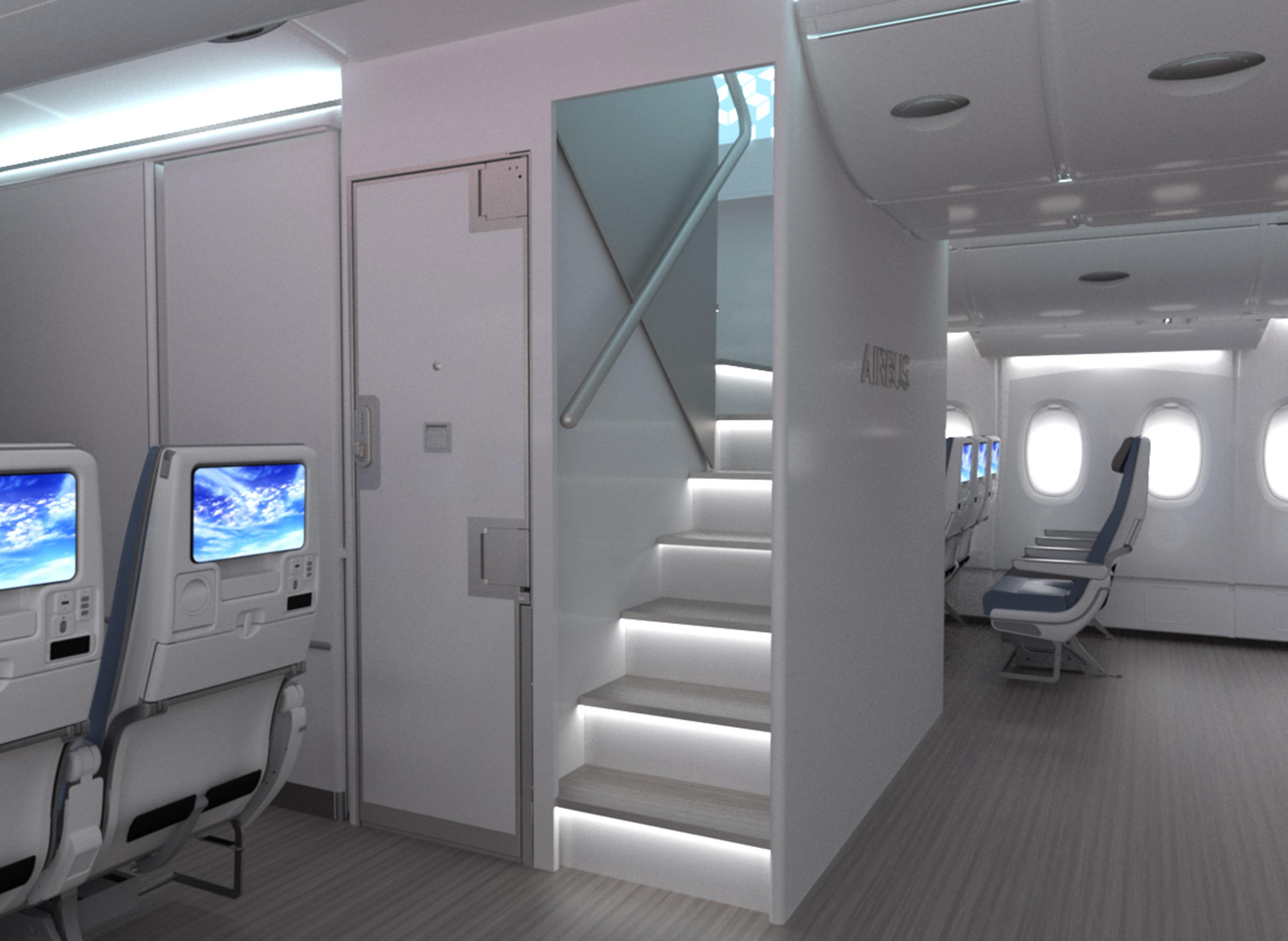 La nuova scala dell'A380 - Copyright Airbus