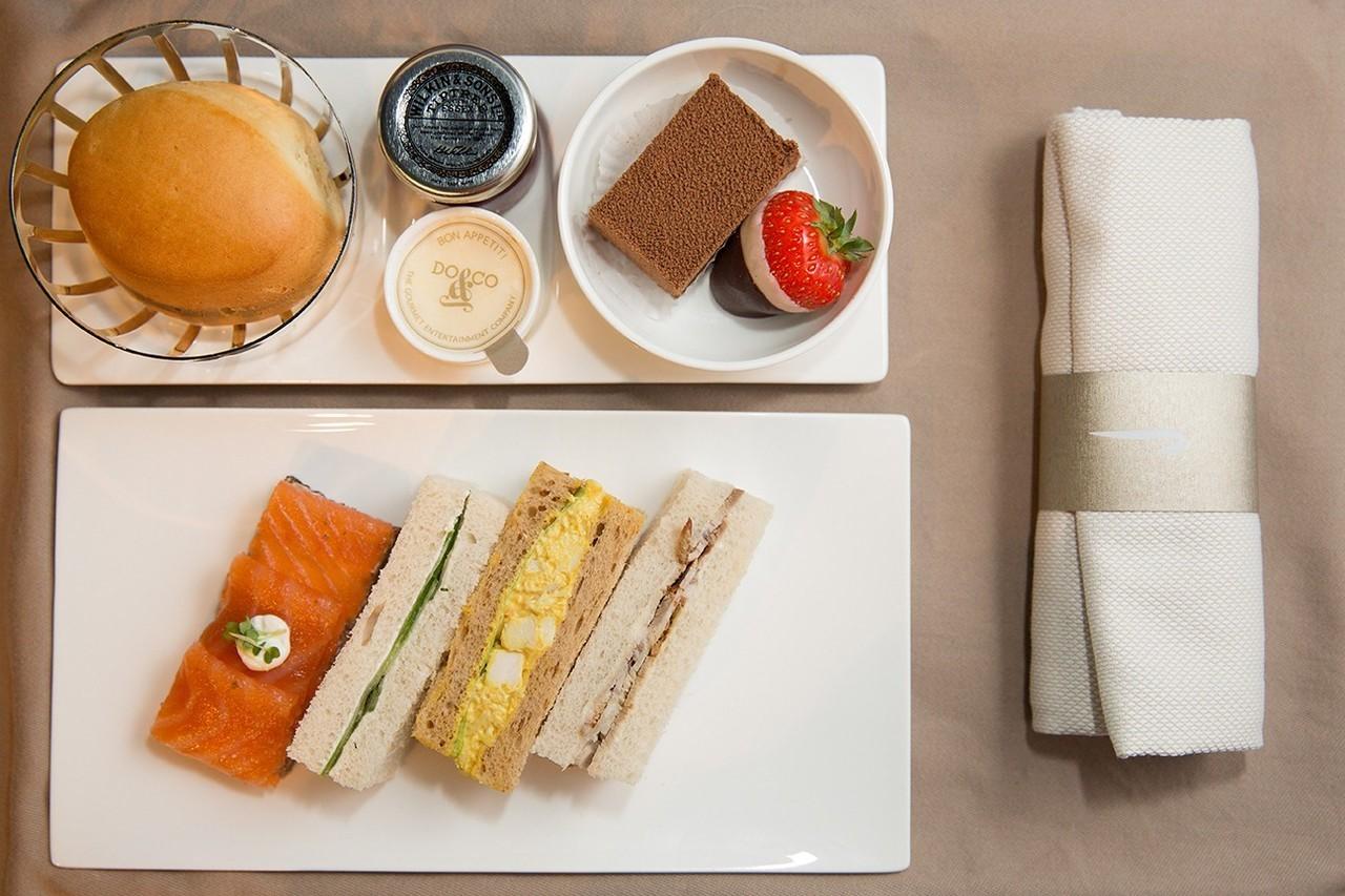 Il nuovo servizio catering di Club Europe - Copyright British Airways