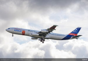A340-laminar-flow-BLADE-demonstrator-first-flight-1-