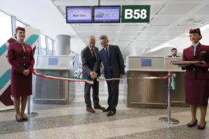 Ribbon cutting_MXP NYC Air Italy inaugural flight